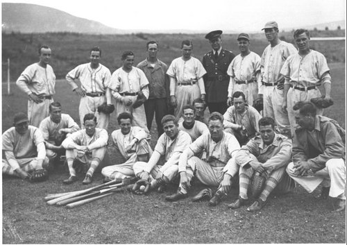 34th Division Baseball Team 1942