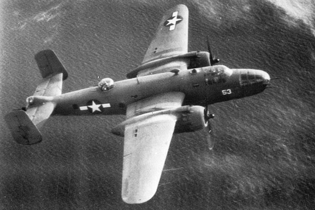 North American PBJ-1D of VMB-413