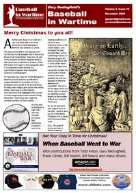 Baseball in Wartime Newsletter No 16