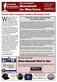 Baseball in Wartime Newsletter No 17