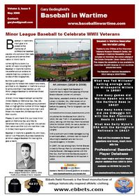 Baseball in Wartime Newsletter No 9