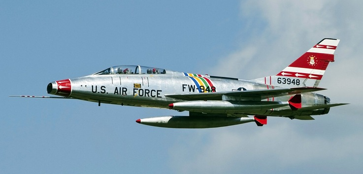 North American F100F Super Sabre